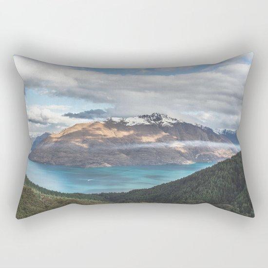 Island clouds Rectangular Pillow