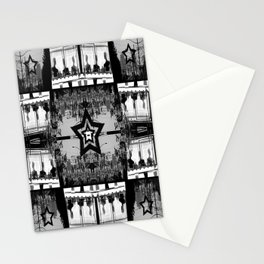 Masking The Inhuman Populace Stationery Cards