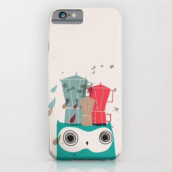 Owl Aloud iPhone & iPod Case