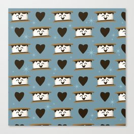 For the love of s'mores Canvas Print