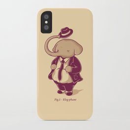 Eleg-phant iPhone Case