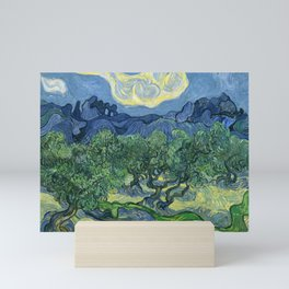 The Olive Trees by Vincent van Gogh Mini Art Print
