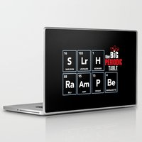 periodic table Laptop & iPad Skins featuring The Big (Bang) Periodic Table by Boots