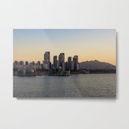 Han River sunset Metal Print