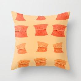 Leaf Bytes Throw Pillow