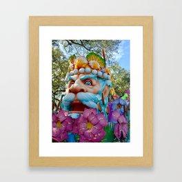 King of Carnival Framed Art Print