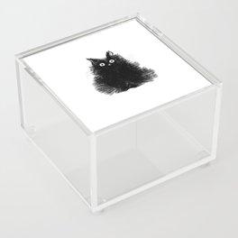 Duster - Black Cat Drawing Acrylic Box