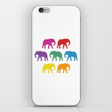 Elephants on Parade iPhone & iPod Skin