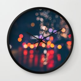 BRIGHT LIGHTS BIG CITY Wall Clock