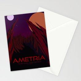 Planet Exploration: Ametria Stationery Cards