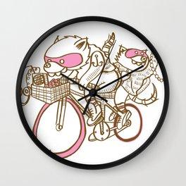 Banditos ©Josh Quick Wall Clock
