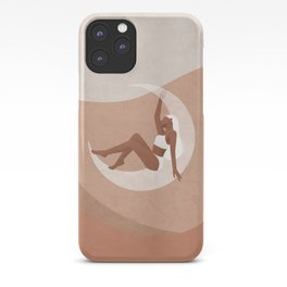 Be the moon and inspire People iPhone Case
