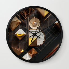 36 Days of Type - B Wall Clock