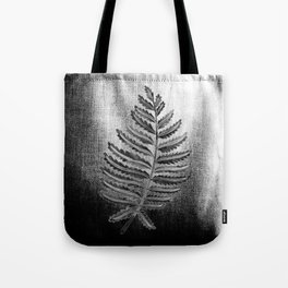 Fern Leaf – Black Palette Tote Bag