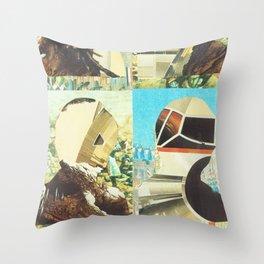 Metamor Poses Throw Pillow