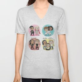 Adventures of 1D & LM Unisex V-Neck