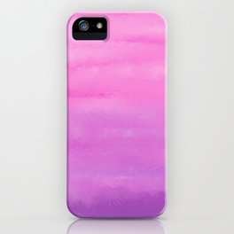 Sunset Clouds Abstract iPhone Case