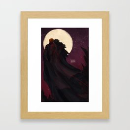 Midnight - Kylux Framed Art Print