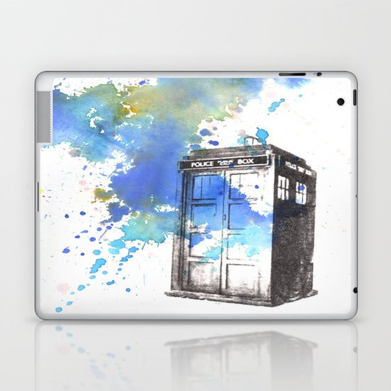 Doctor Who Tardis Laptop & iPad Skin