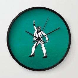 Saturday Night Cyberman Wall Clock