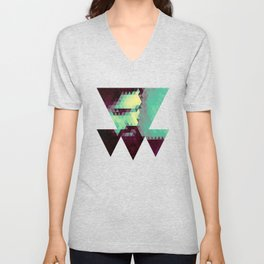 Abstracted Man I Unisex V-Neck
