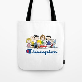 Snoopy and The Peanuts Gang Tote Bag