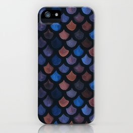Mermaid Galaxy Scales iPhone Case