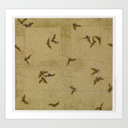 Spider Web  Candace Wheeler (American, Delhi, New York 1827–1923 New York) Art Print