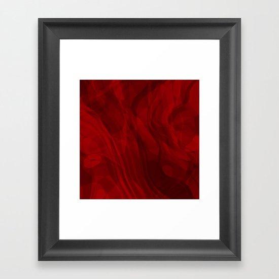 Love Flows Gently Framed Art Print