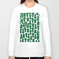 kodama Long Sleeve T-shirts featuring Kodama  by pkarnold + The Cult Print Shop