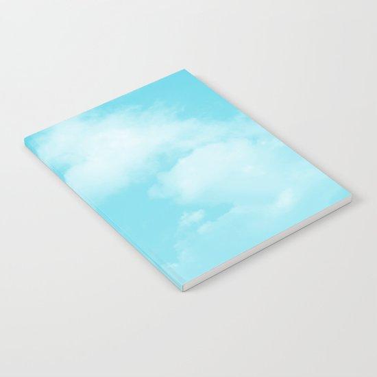 Aqua Blue Clouds by byjwp