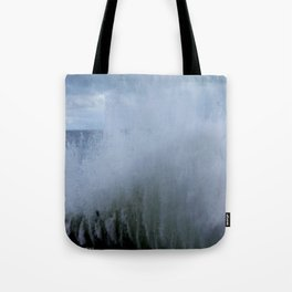A Gale to Blow the Year Out #2 (Chicago Waves Collection) Tote Bag