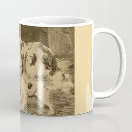 English Setter puppies & Mother's Day quote Coffee Mug