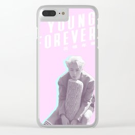 Young Forever Jin Clear iPhone Case