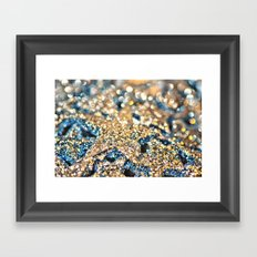 Starry Wishes and Bokeh Dreams... Framed Art Print