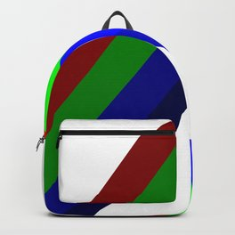 RGB Vector Shape Backpack