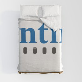 Plane Tees - Continental Airlines Duvet Cover