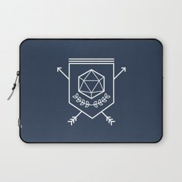 Roleplayer's Crest Laptop Sleeve