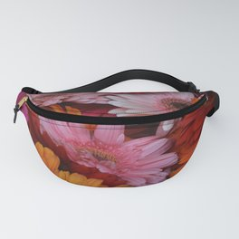 Gerbera Flower Bunch Fanny Pack