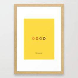 Cheerios Framed Art Print