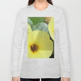 Water Flowers Long Sleeve T-shirt