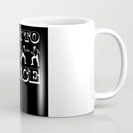 Fencing Evolution Born To Fence Coffee Mug