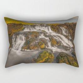 Dunseverick Waterfall IV Rectangular Pillow