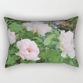 Monet's Garden Floral 1 Rectangular Pillow