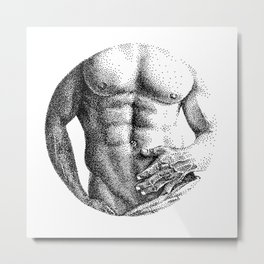 Konstantin Circle NOODDOOD Metal Print