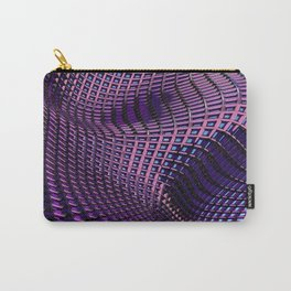 ''Grid'' digital art by Diana Grigoryeva Carry-All Pouch