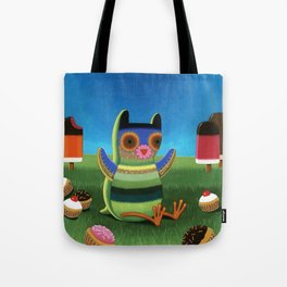 treat time Tote Bag