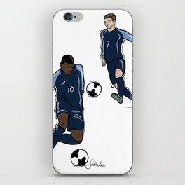 Fifa World Cup Champions Mbappé & Griezmann France iPhone Skin