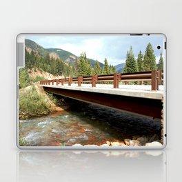 Bridge Over Mineral Creek Laptop & iPad Skin