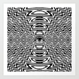 Third Eye Open Art Print